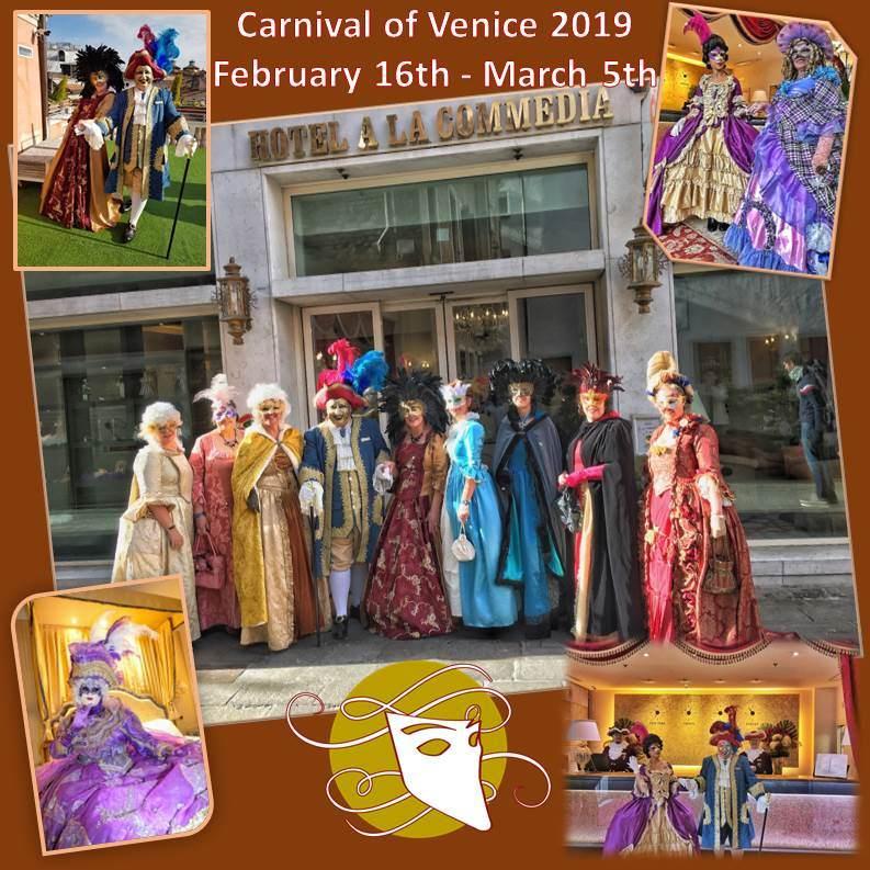 Francois Illas New Tradition: Venice Carnival 2019